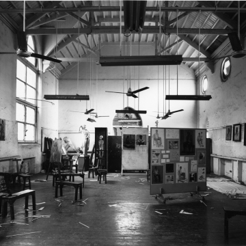 SIR JJ SCHOOL OF ART, BOMBAY, 2006, photograph by CHRISTOPHER TAYLOR